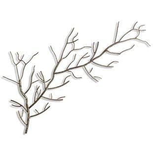 metal wall art tree branches wayfair