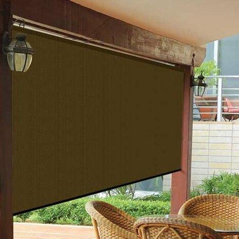 Coolaroo Uv Block Outdoor Single Rolled Shade Reviews Wayfair