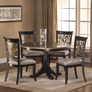 Chuckanut 5 Piece Solid Wood Dining Set