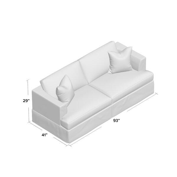 Wayfair Custom Upholstery Carly Sleeper Sofa Amp Reviews