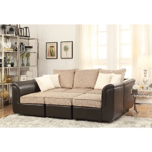 Caisy Reversible Modular Sectional by ACME F..