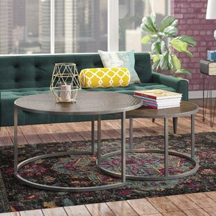 Copper Round Coffee Tables Youll Love Wayfair