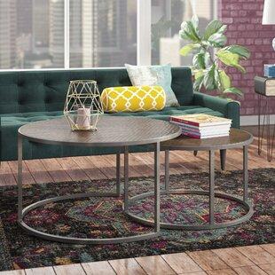 Swiney 2 Piece Coffee Table Set