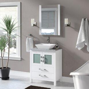 White Vanity Marble Top Wayfair