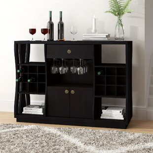 Eisley 18 Bottle Floor Wine Cabinet