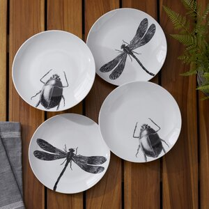 Insect Plates (Set of 4)