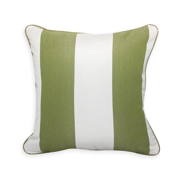 PeakSeason Colin Cilantro Stripe Outdoor Sunbrella Throw Pillow | Perigold