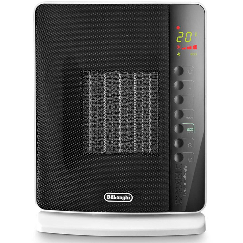 DeLonghi 1,500 Watt Portable Electric Fan Panel Heater with Remote ...