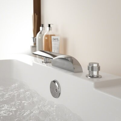 Find The Perfect 3 Hole Deck Mounted Bathtub Faucets Wayfair