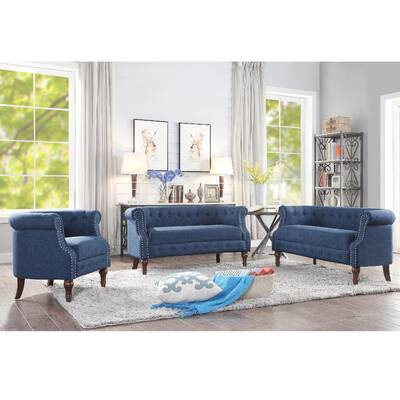 Red Barrel Studio Kingston 3 Piece Living Room Set Reviews Wayfair