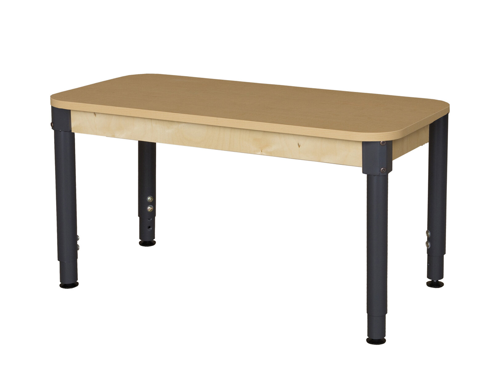 Wood Designs Rectangle High Pressure Laminate Table (Adjustable Legs) |  Wayfair