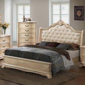 Longstaff Upholstered Panel Bed by Astoria Grand