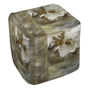 Natural Elements 2 Ottoman by Manual Woodworkers & Weavers