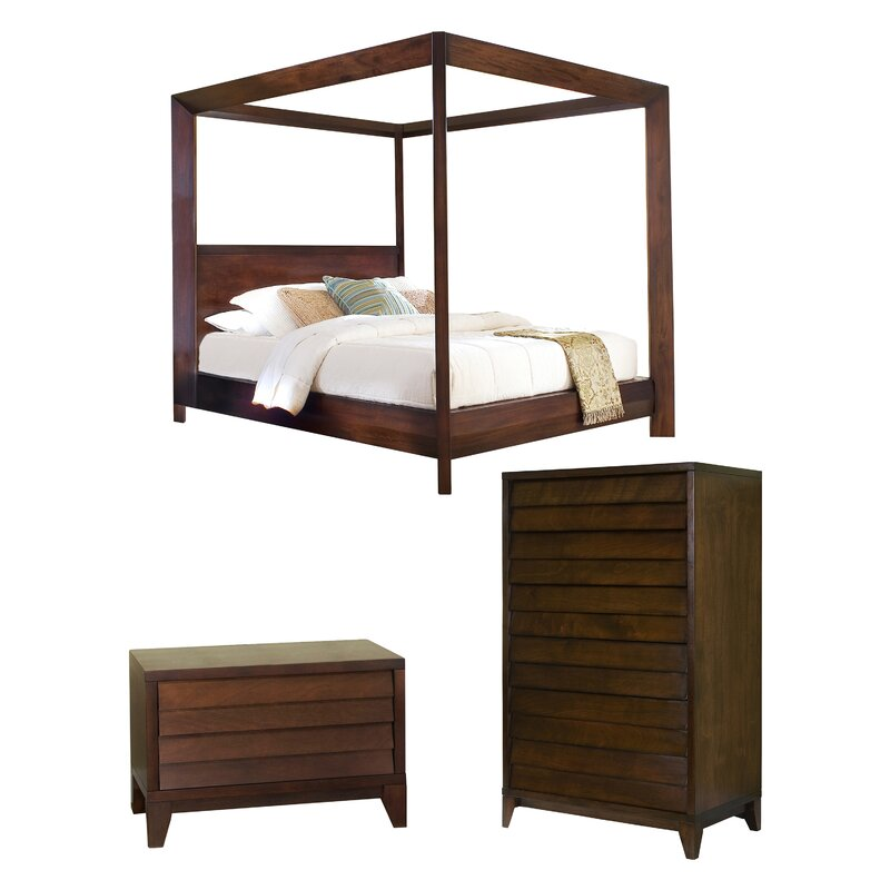 Home Image Island Canopy Configurable Bedroom Set Amp Reviews Wayfair