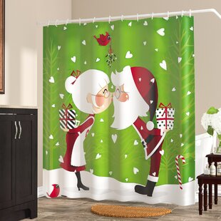 Attractive Christmas Shower Curtains You'll Love | Wayfair NX93