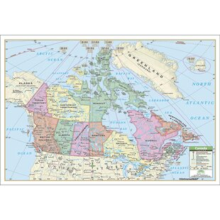 Universal map wayfair rolled map laminated sciox Gallery