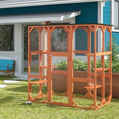 Waterproof Outdoor Cat House Wayfair