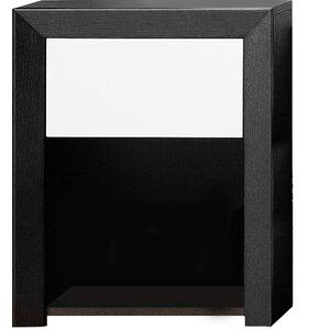nachttische farbe schwarz holzart eiche. Black Bedroom Furniture Sets. Home Design Ideas