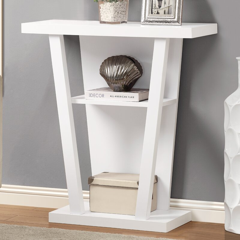 monarch specialties inc. hall console table & reviews | wayfair