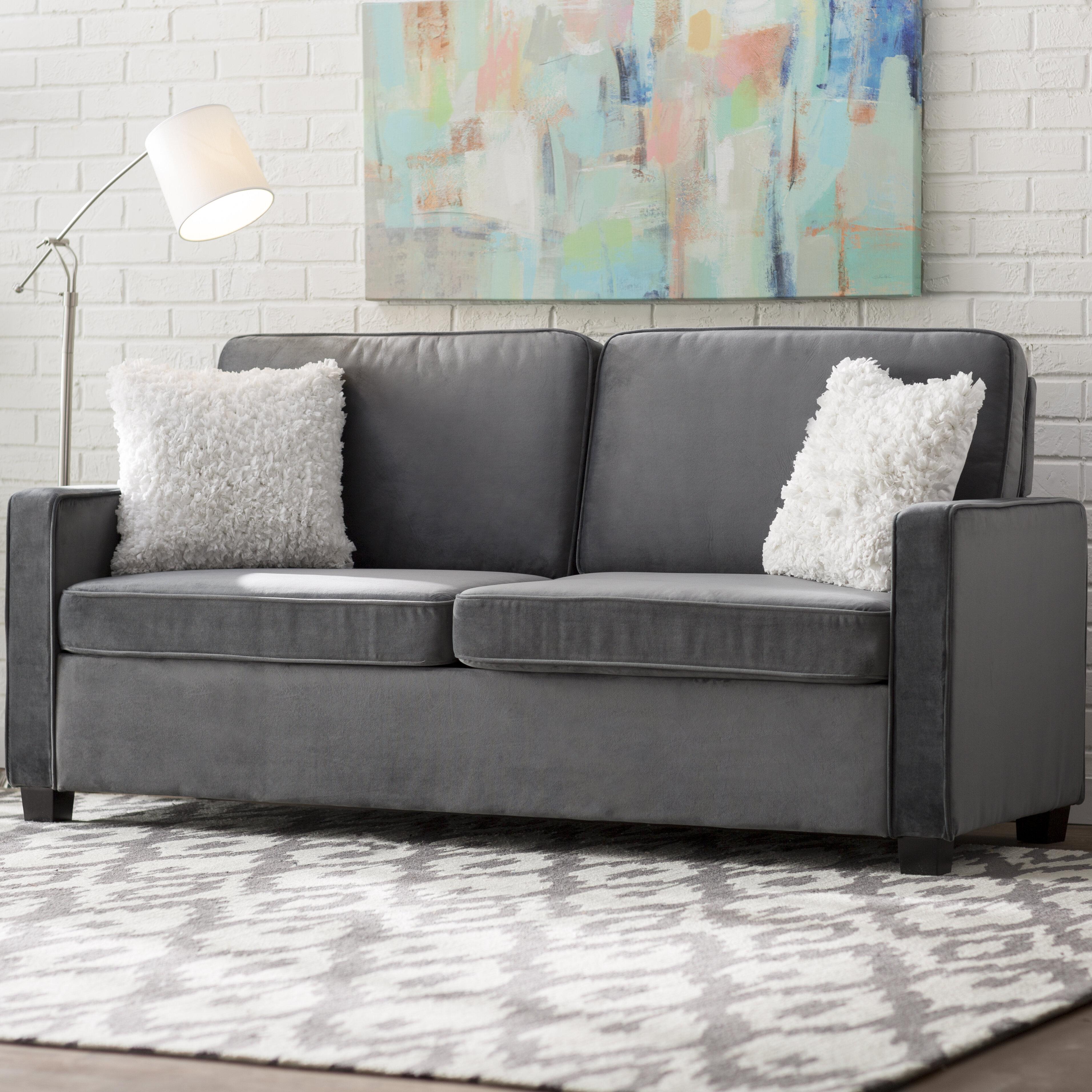 Mercury Row Cabell Sleeper Sofa U0026 Reviews | Wayfair
