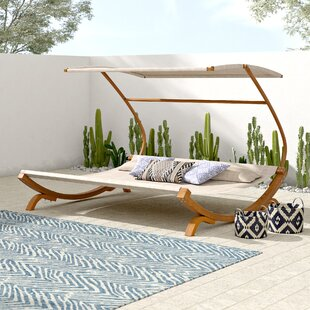 Double Patio Chaise Lounge Chairs You Ll Love In 2019 Wayfair