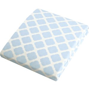 Byron Flannel, Lattice Bassinet Fitted Sheet