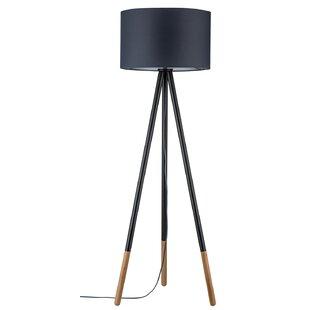 Tripod floor lamps wayfair neordic rurik 153cm tripod floor lamp mozeypictures Images