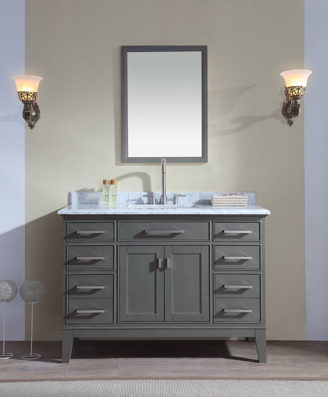 Danny 48  Single Bathroom Vanity Set Ari Kitchen Bath Reviews