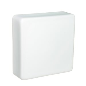 Geo 2-Light Outdoor Flush Mount