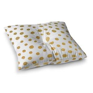Nika Martinez Dots Square Floor Pillow