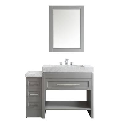 48 vanity mirror affordable bathroom malt 48 highland dunes