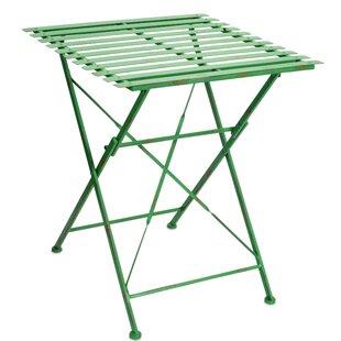Trujillo Slotted Folding Bistro Table