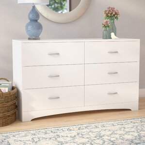 Poulson 6 Drawer Dresser by Andover Mills