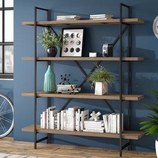 Champney Modern Etagere Bookcase