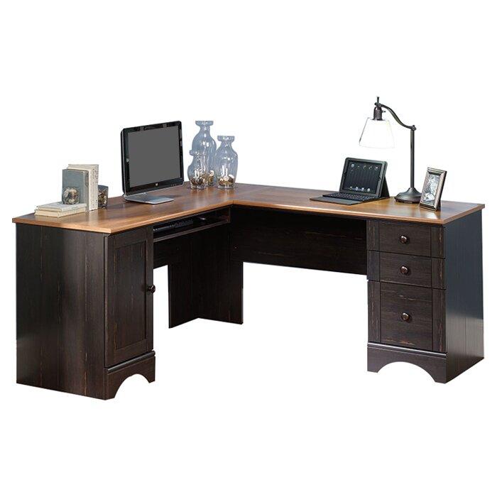 Corner Computer Desk Keyboard Tray Desk Design Ideas