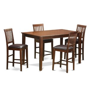 5 Piece Counter Height Dining Set Cool