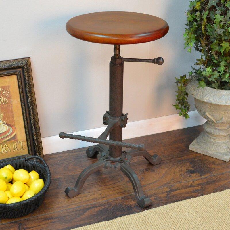 Surprising Adjustable Height Swivel Bar Stool Alphanode Cool Chair Designs And Ideas Alphanodeonline