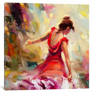 Dancer Painting on Canvas