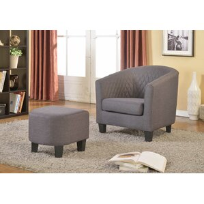 living room chair with ottoman. Salter Barrel Chair and Ottoman  Sets You ll Love Wayfair