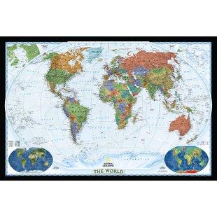 Cartes du monde murales - Carte du monde deco murale ...