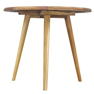Mayle Mid-Century Modern Solid Wood Dining Table
