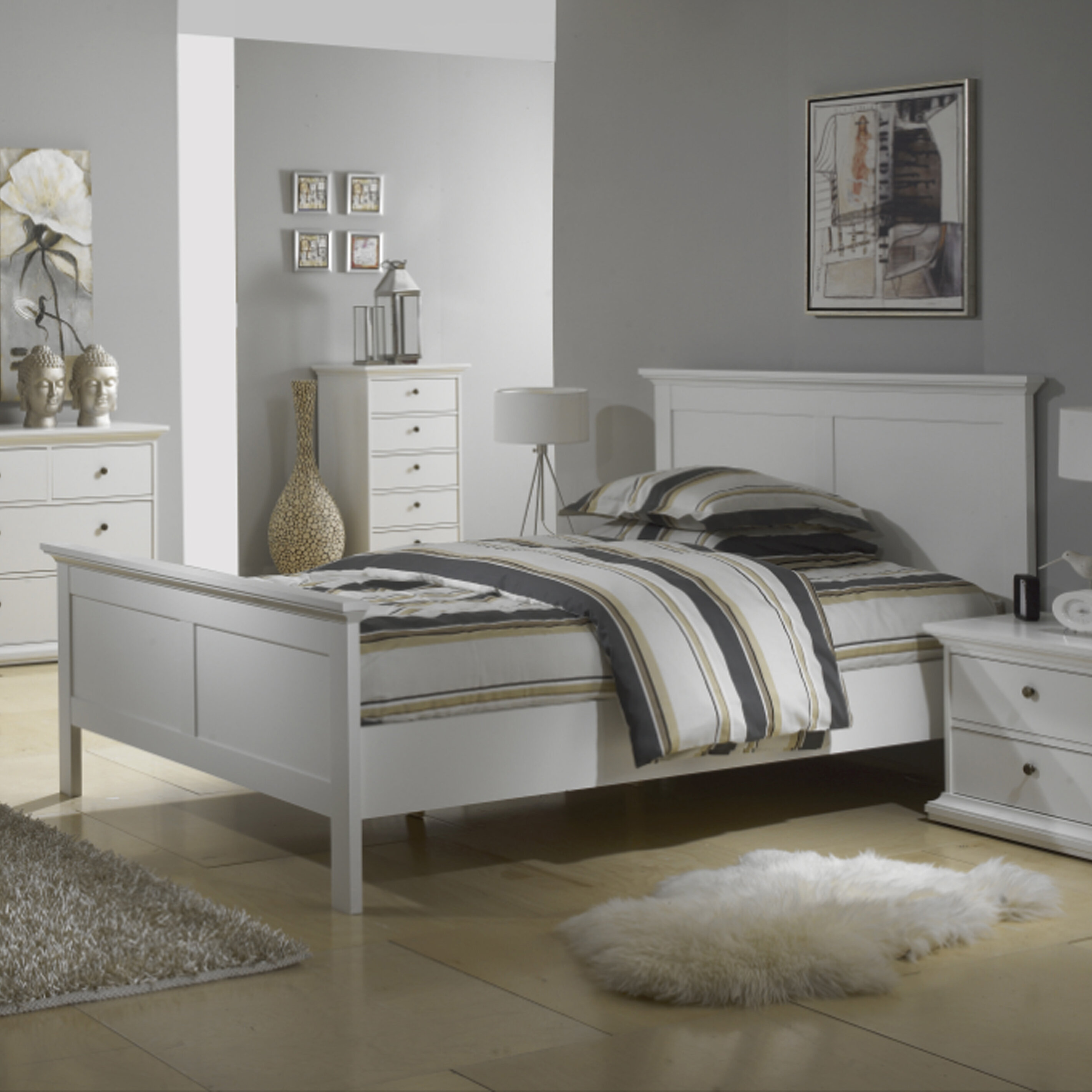 Beachcrest Home Breckenridge Queen Platform Bed | Wayfair