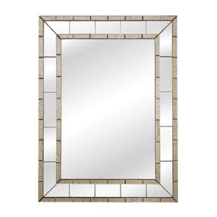 Beveled Panel Wall Mirror
