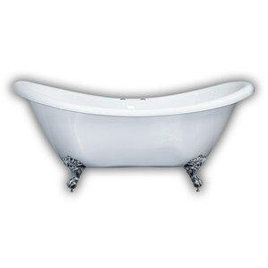 clawfoot baby bath tub. 68 62  x 28 5 Claw Foot Slipper Bathtub Freestanding Tubs