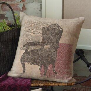 Downton Abbey Queen Anne Chair Throw Pillow