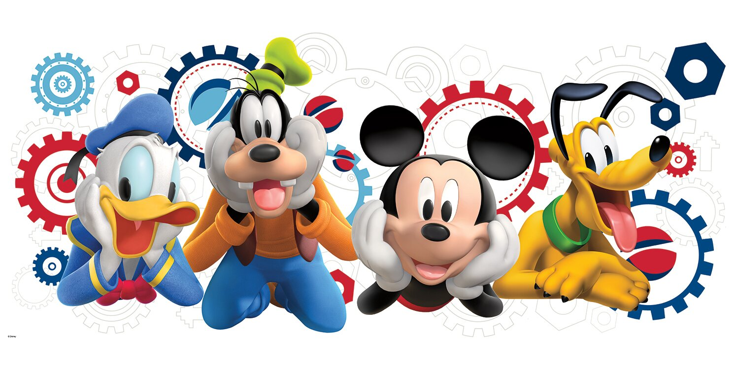 Room Mates Mickey And Friends Mickey Mouse Clubhouse