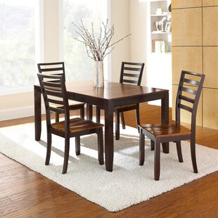 Hidalgo 5 Piece Solid Wood Dining Set