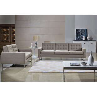 Angela 3 Piece Living Room Set