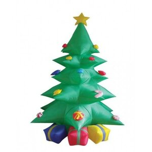 8' Inflatable Tree with Presents