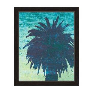 Palm Tree Framed Painting Print
